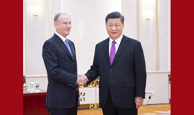 Xi stresses firm, strong strategic support between China, Russia