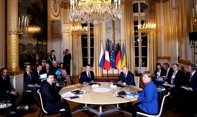 Normandy Four Summit concludes with hope of full ceasefire in E. Ukraine by year-end