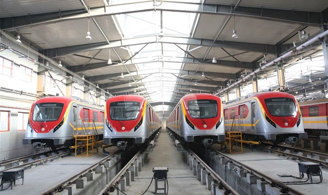 Spotlight: Pakistan's first-ever urban train under CPEC takes first test run
