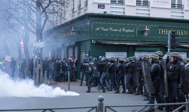 Strikes over pension reform cripple France