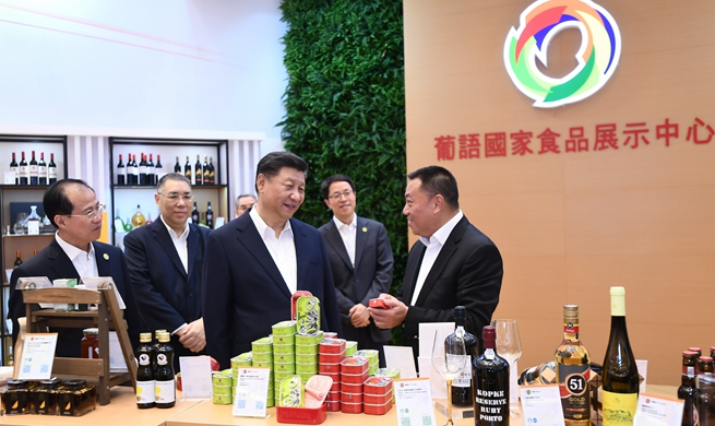 Xi hails progress in building of China-PSCs commercial, trade cooperation service platform