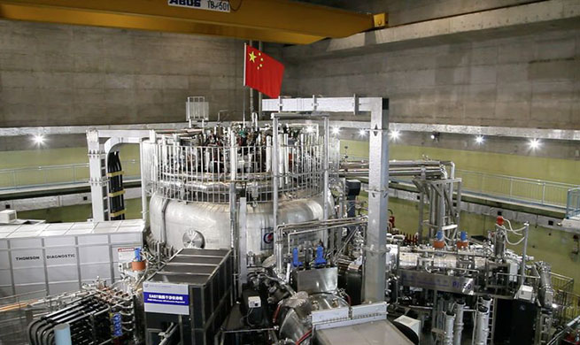 Xinhua Headlines: China participates in global cooperation for unlimited, clean fusion energy