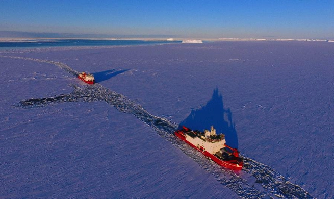 China's polar icebreakers Xuelong, Xuelong 2 to conduct scientific researches in Southern Ocean