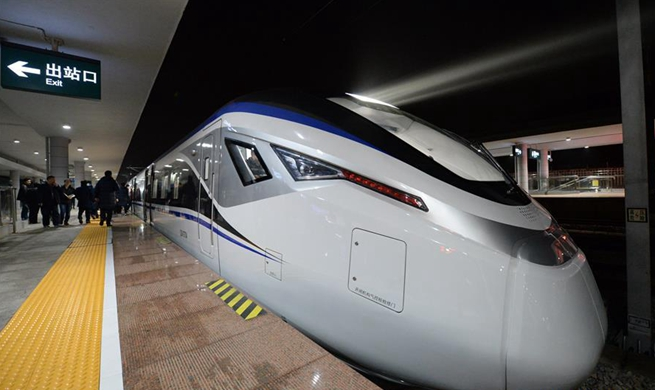 High-speed trains for inter-city transportation put into operation in Hunan