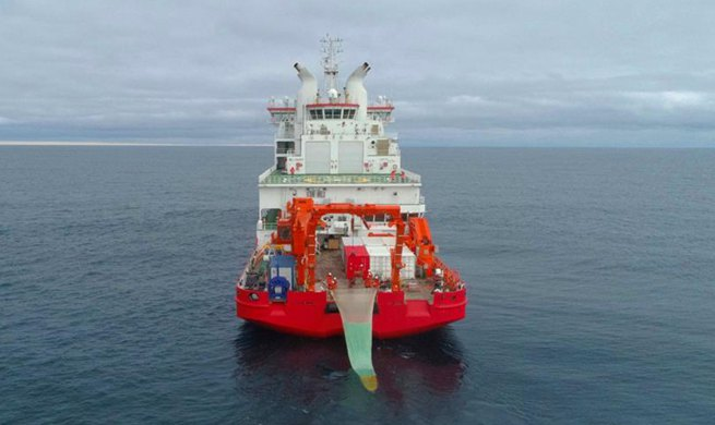 China's expedition team obtains rare Antarctic fish samples from deep water