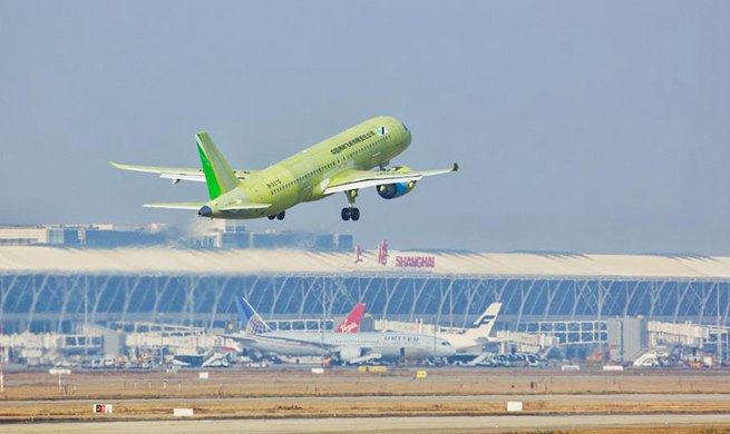 China's 6th C919 jet completes maiden test flight