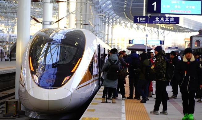 Xinhua Headlines: China's high-speed rail links Winter Olympics cities