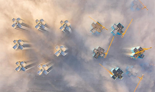 Xinhua selects aerial photos of the year 2019