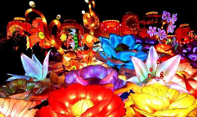 Lantern fair kicks off in Sanmenxia City, China's Henan