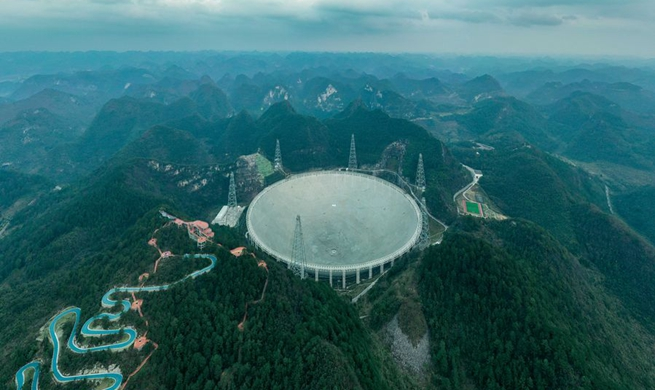 Xinhua Headlines: World's largest radio telescope starts formal operation