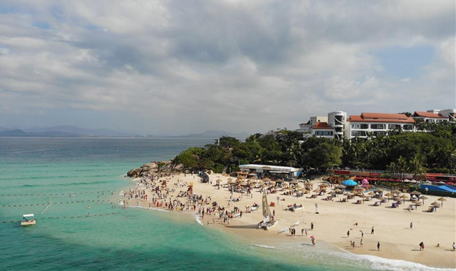 China resort island receives over 83 mln tourists in 2019