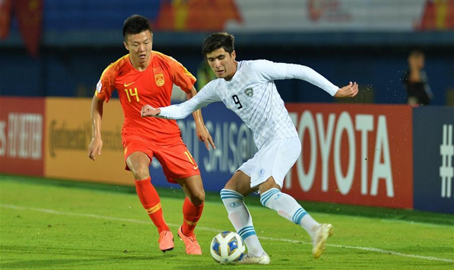 Uzbekistan scores twice as China exits Olympic tickets competition
