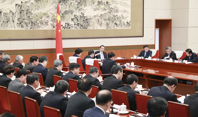 China's cabinet to solicit opinions on gov't work report