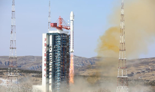China launches new remote-sensing satellite