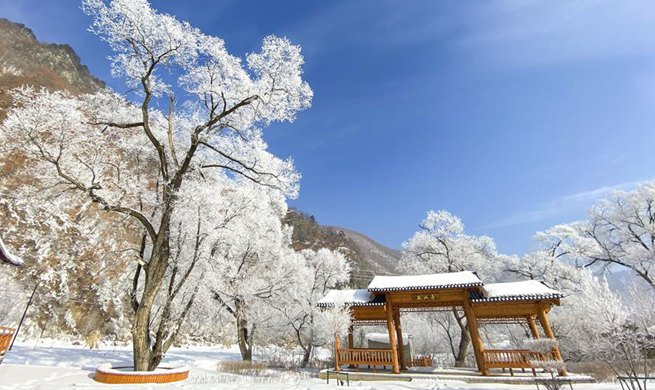 Winter scenery of Jilin