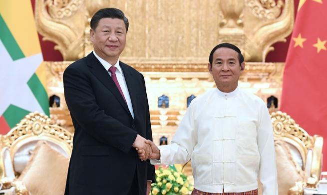"Xi stresses importance of China-Myanmar ""Paukphaw"" friendship"