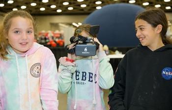Dallas STEM Expo held in Texas, U.S.