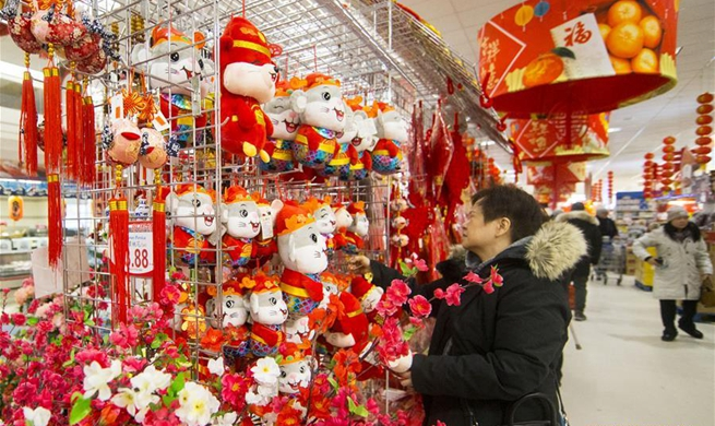 Decorations marking Chinese Lunar New Year seen worldwide