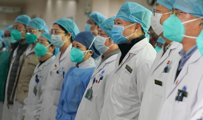 Fight against pneumonia caused by novel coronavirus in Wuhan