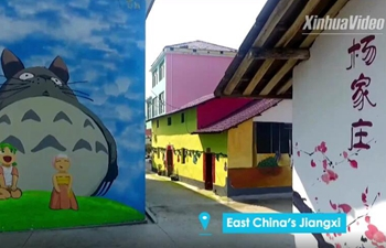 "Stunning ""cartoon village"" in China"