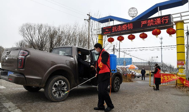 Xinhua Headlines: Chinese villages fight smart in battle against new virus