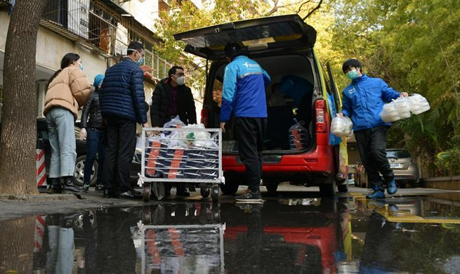 Takeaway-ordering app provides free delivery for hospitals in Wuhan