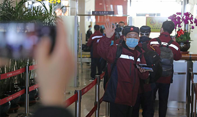 Medical team from Liaoning to aid coronavirus control efforts in Hubei