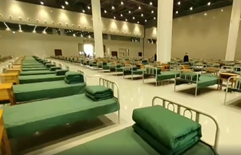 In 24 hours! Convention center turned into makeshift hospital in Wuhan