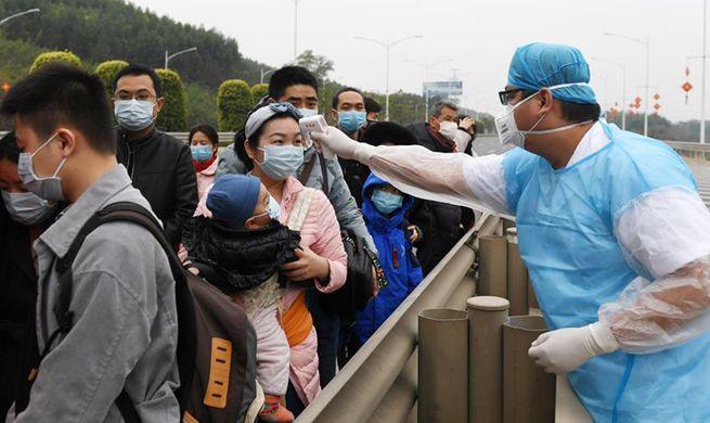 Guangxi takes various measures to better fight against novel coronavirus