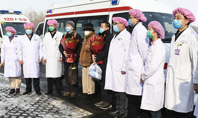 Xinjiang discharges first batch of patients cured of novel coronavirus