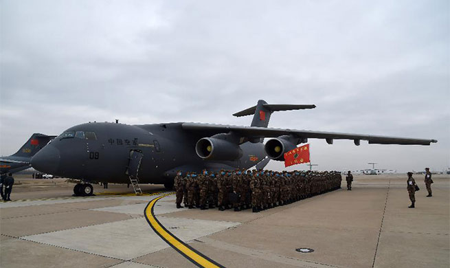 11 transport aircraft of PLA Air Force send medics to Wuhan