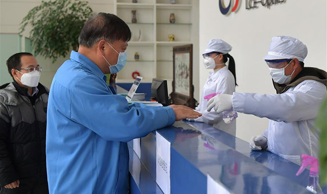 Companies take active precaution measures in Nanchang