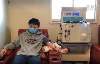 Cured coronavirus patients donate plasma to save more