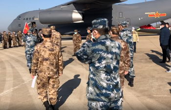Y-20 aircraft deliver aid to Wuhan