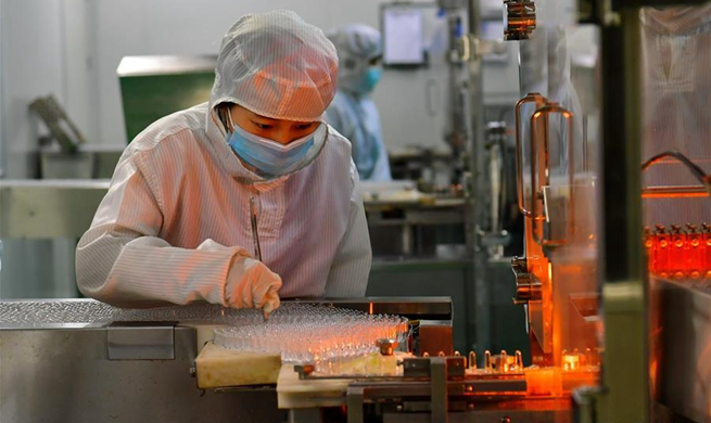 Companies resume production under epidemic prevention measures in China