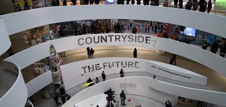 """Feature: """"Countryside, The Future"""" exhibition highlights China's dramatic rural revitalization"""