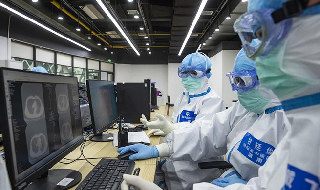 In pics: 1st temporary hospital featuring TCM in Wuhan