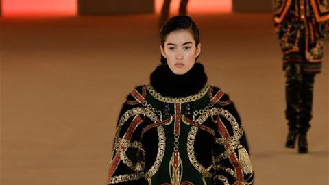 Paris Women's Fashion Week: Balmain's F/W 2020-2021 Ready-to-Wear collections