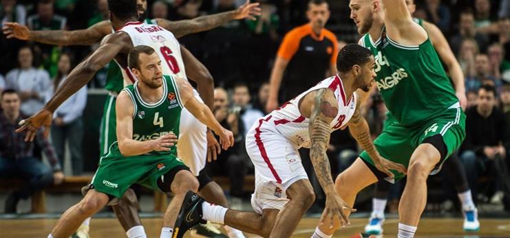 Euroleague basketball: Zalgiris Kaunas vs. AX Armani Exchange Milan