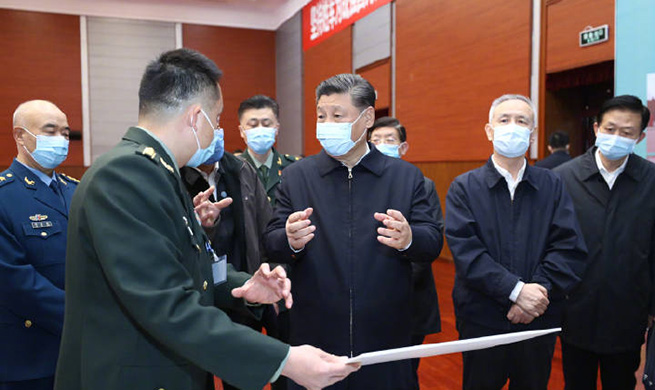 Xi stresses advancing scientific research on COVID-19