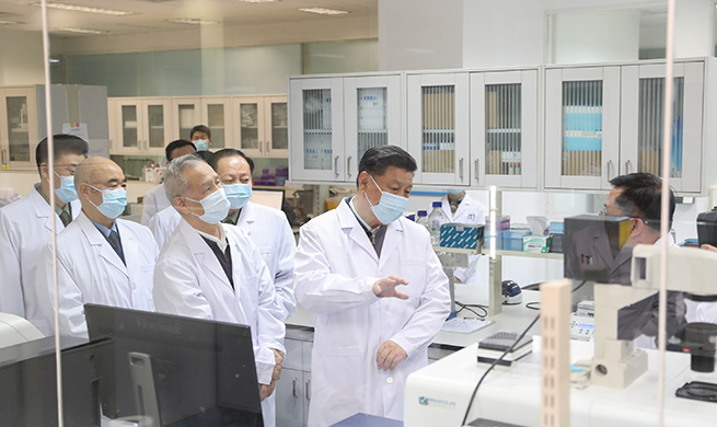 Xi Focus: Xi stresses COVID-19 scientific research during Beijing inspection