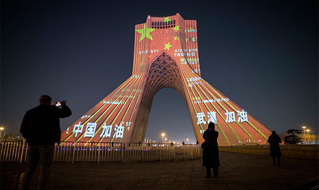 Xinhua Headlines: Chinese experts helping on spot as COVID-19 cases rise in Iran