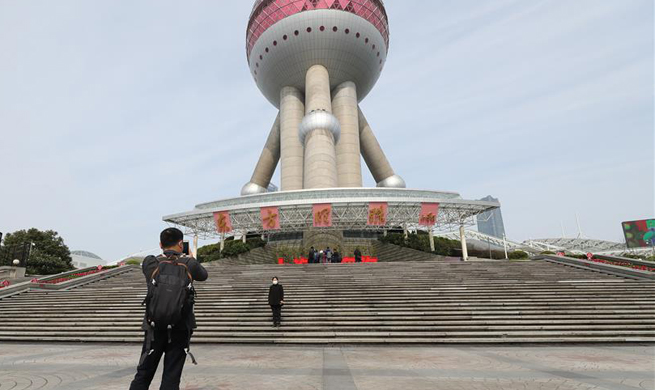 Shanghai skyscraper sceneries, landmarks to reopen