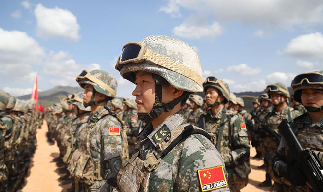 Cambodia, China launch joint military exercise on anti-terrorism, humanitarian rescue