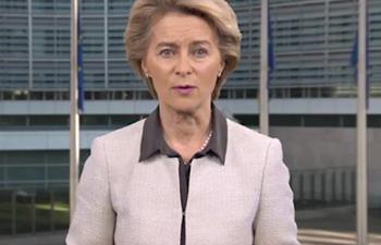 Von der Leyen says EU grateful for China's support