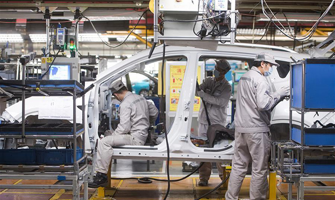Wuhan allows car producers, auto part suppliers to resume work