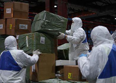 China's medical supplies exports top 10 bln yuan