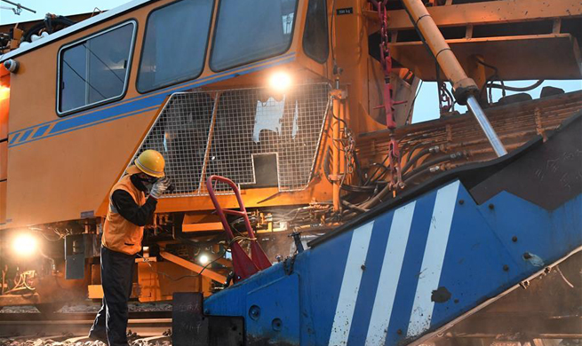 4-month-long maintenance on railroad tracks conducted in Henan