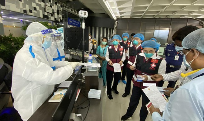Chinese medical expert team supports fight against COVID-19 pandemic in Dhaka