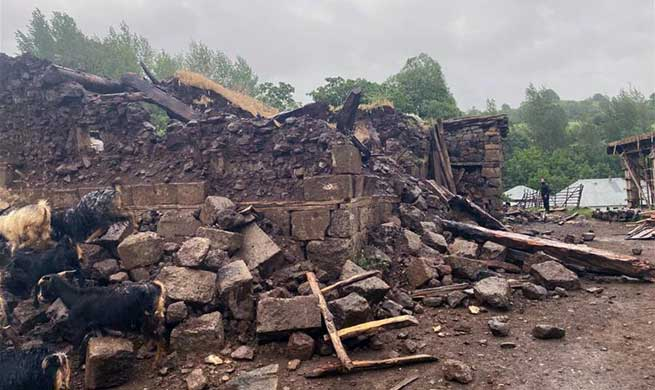 5.7-magnitude quake hits eastern Turkey